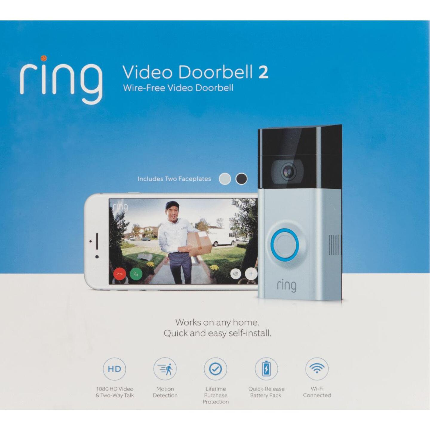 Ring  Assorted Color Wireless Video Doorbell 3 Image 2