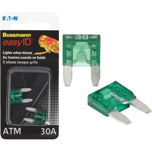 Bussmann 30-Amp 32-Volt ATM Blade Automotive Fuse (2-Pack)