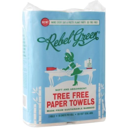 Rebel Green Tree Free Paper Towel (2 Roll)