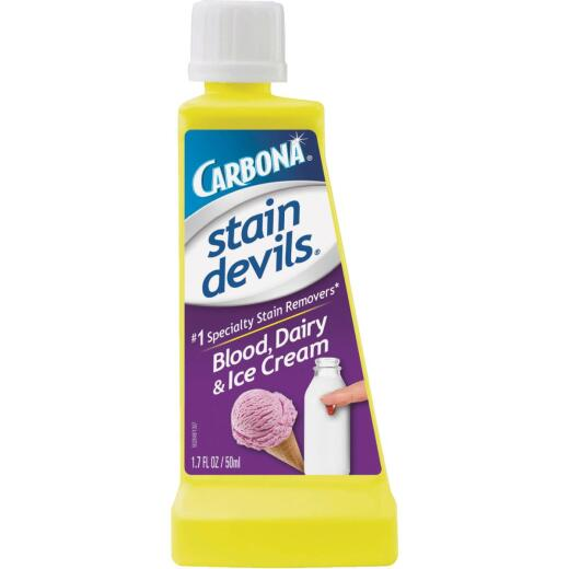Carbona Stain Devils 1.7 Oz. Formula 4 Blood & Dairy Stain Remover
