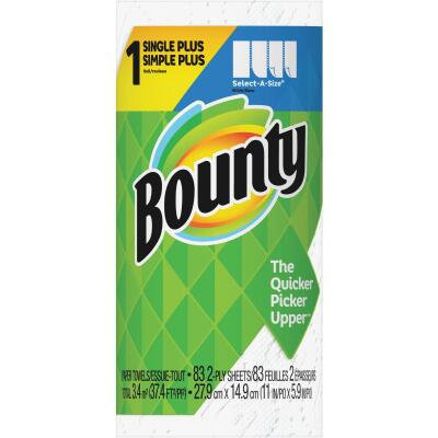 Bounty Single Plus Select-A-Size Paper Towel (1-Roll)