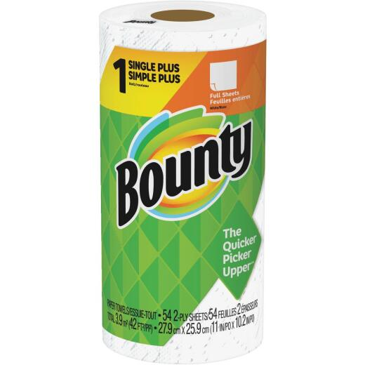 Bounty Single Plus Full Sheet Paper Towel (1-Roll)