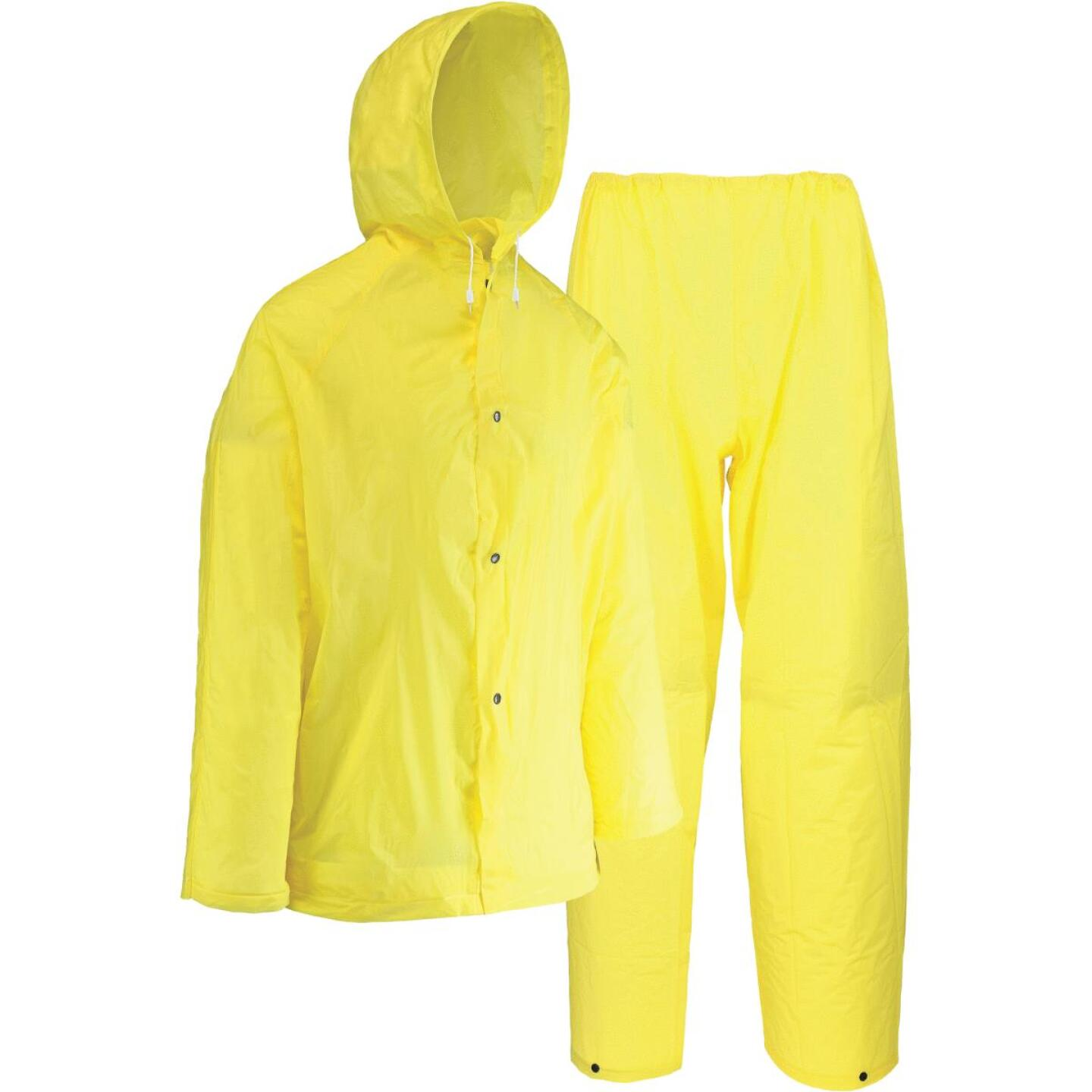 West Chester Large 2-Piece Yellow EVA Rain Suit Image 1
