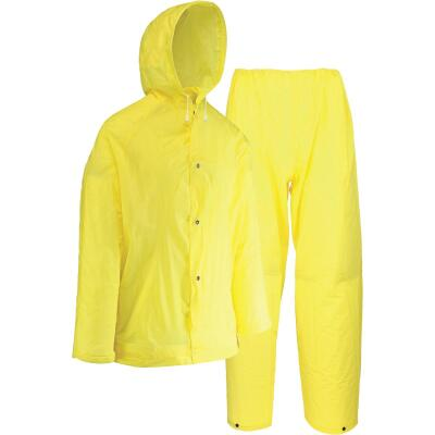 West Chester 2XL 2-Piece Yellow EVA Rain Suit