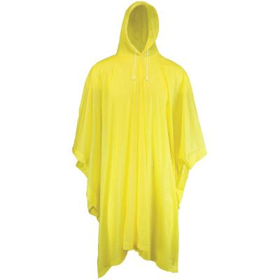 West Chester 50 In. x 80 In. Yellow Rain Poncho